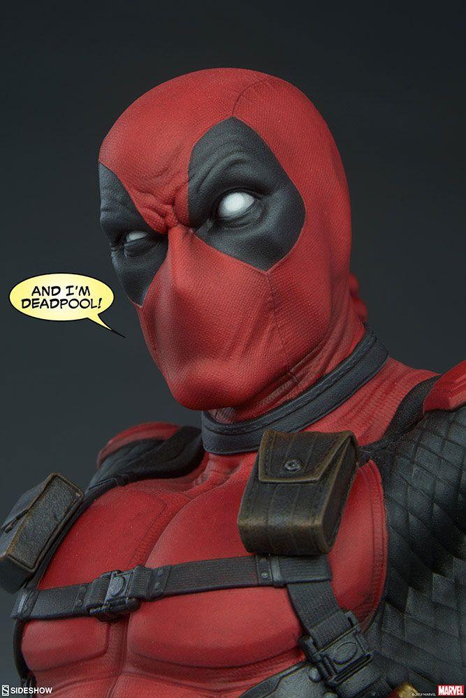 Buste Marvel Comics Deadpool 28cm 1001 figurines (9)