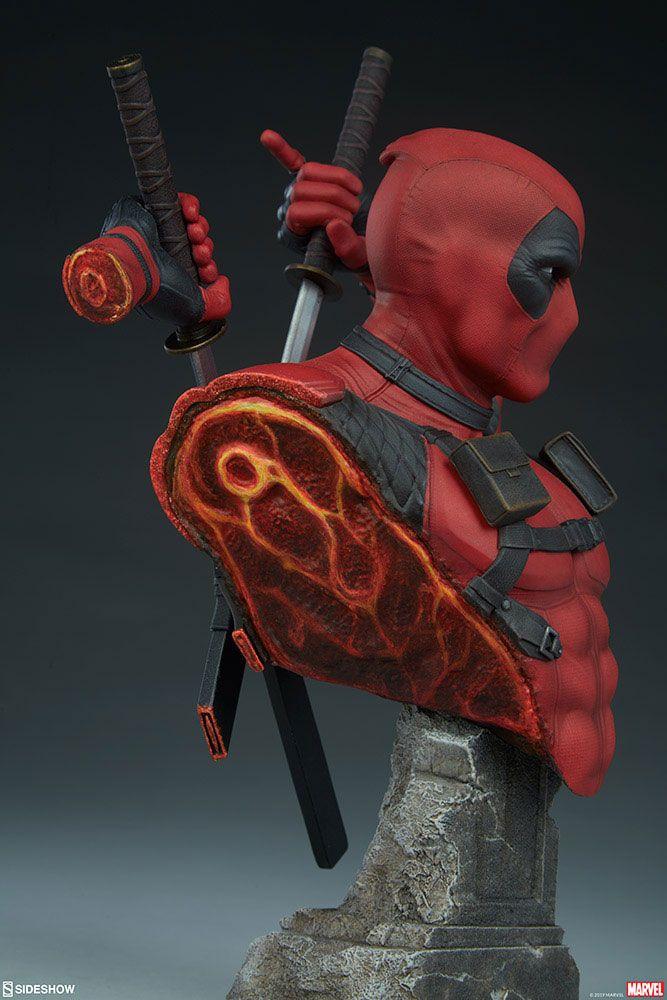 Buste Marvel Comics Deadpool 28cm 1001 figurines (11)