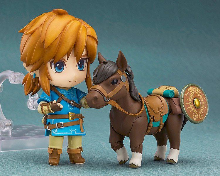 Figurine Nendoroid The Legend of Zelda Breath of the Wild Link Deluxe Edition 10cm 1001 Figurines (3)