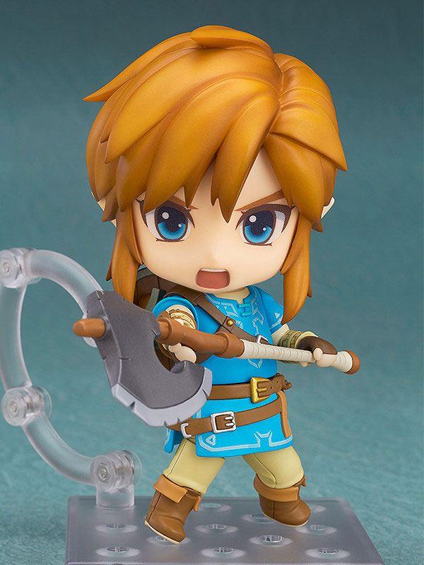 Figurine Nendoroid The Legend of Zelda Breath of the Wild Link Deluxe Edition 10cm 1001 Figurines (5)