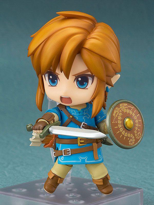 Figurine Nendoroid The Legend of Zelda Breath of the Wild Link Deluxe Edition 10cm 1001 Figurines (8)