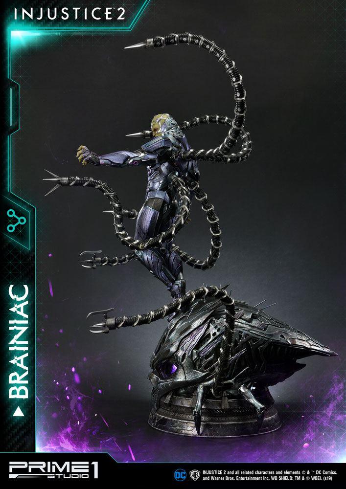 Statue Injustice 2 Brainiac 75cm 1001 figurines (4)