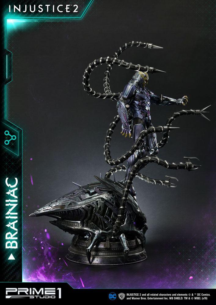 Statue Injustice 2 Brainiac 75cm 1001 figurines (7)