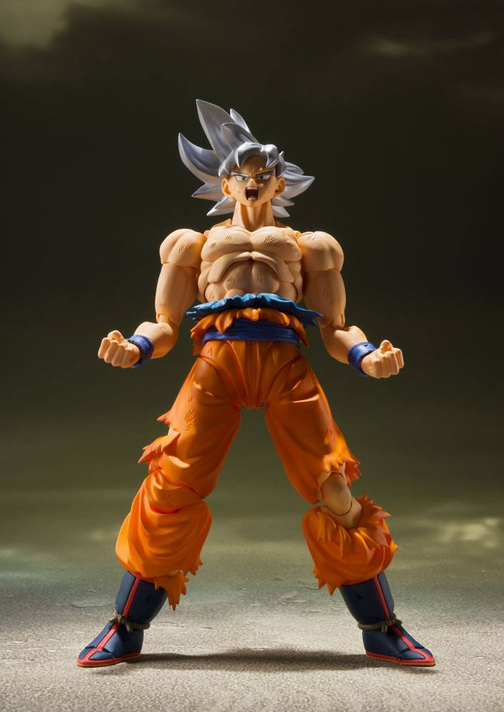 Figurine Dragon Ball Super S.H. Figuarts Son Goku Ultra Instinct 14cm 1001 Figurines (4)