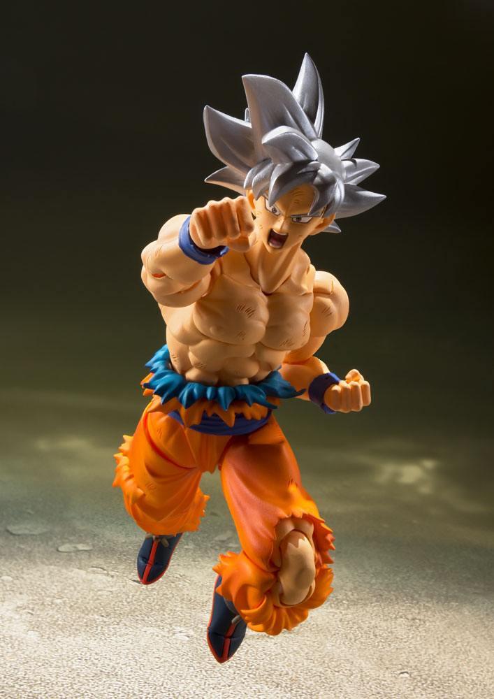 Figurine Dragon Ball Super S.H. Figuarts Son Goku Ultra Instinct 14cm 1001 Figurines (5)