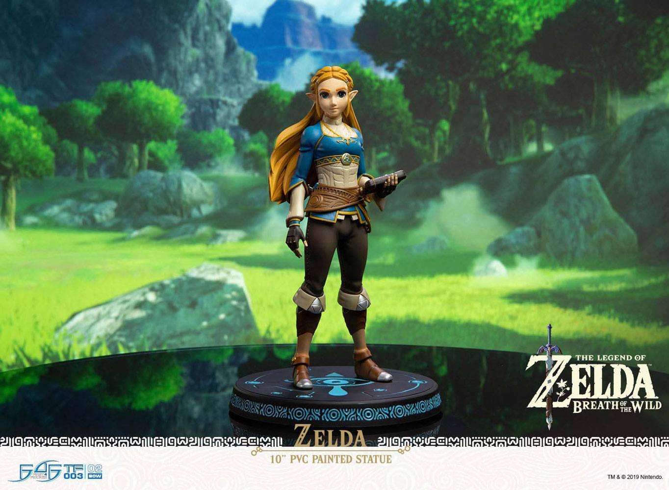 Statuette The Legend of Zelda Breath of the Wild Zelda 25cm