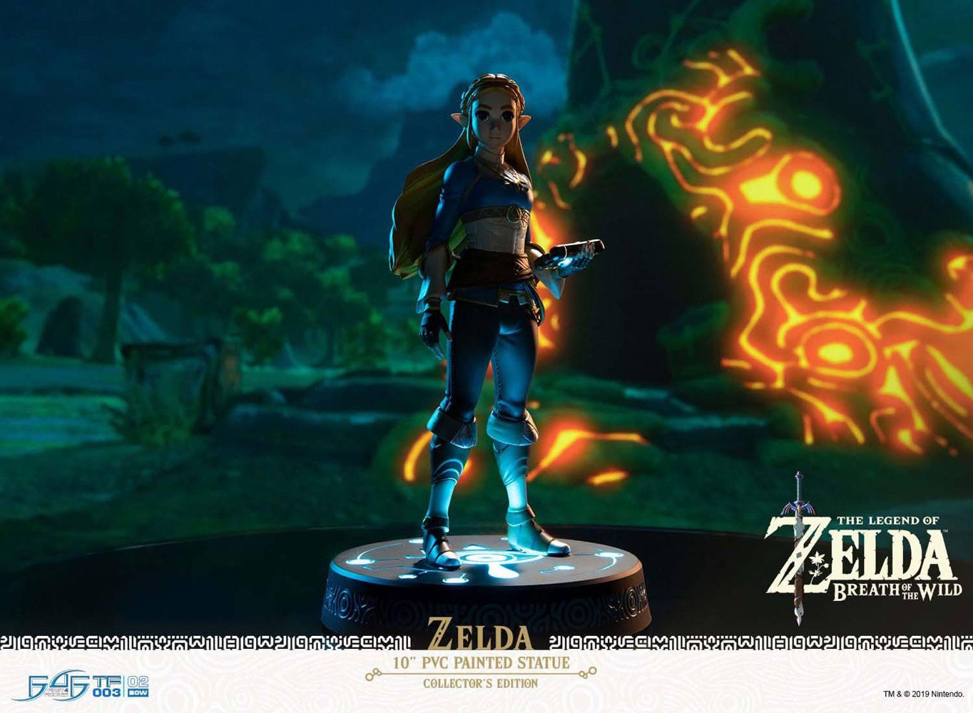 Statuette The Legend of Zelda Breath of the Wild Zelda Collector\'s Edition 25cm