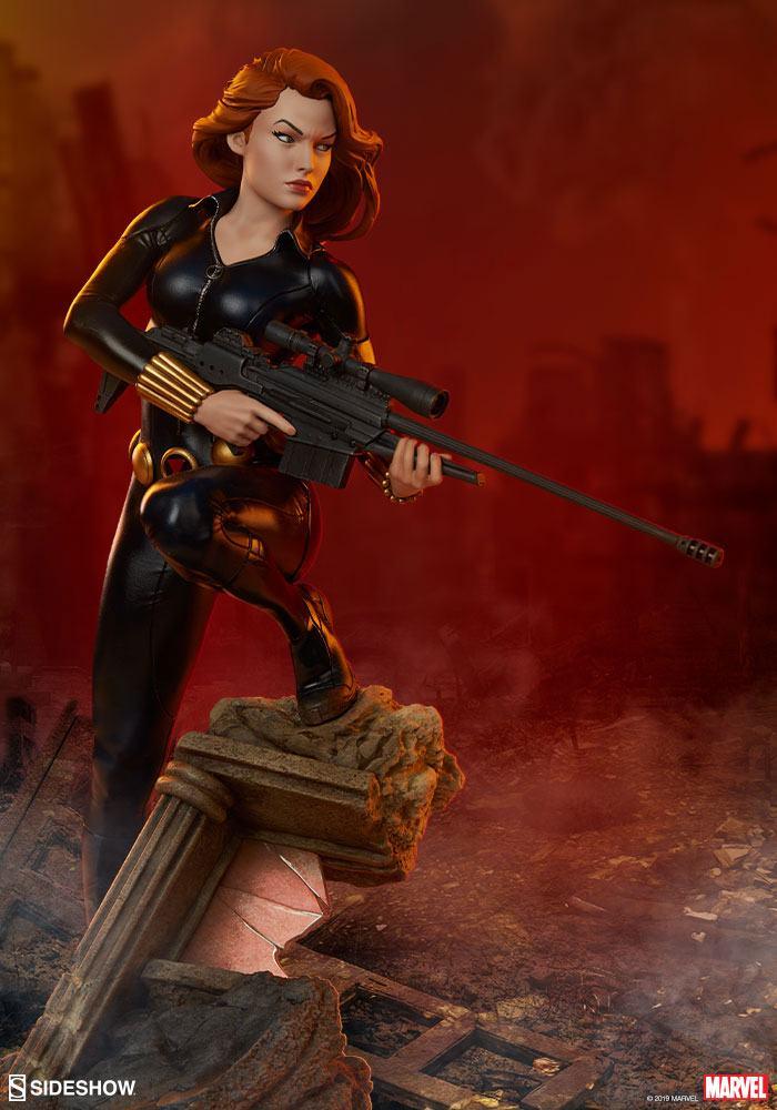 Statuette Avengers Assemble Black Widow 37cm