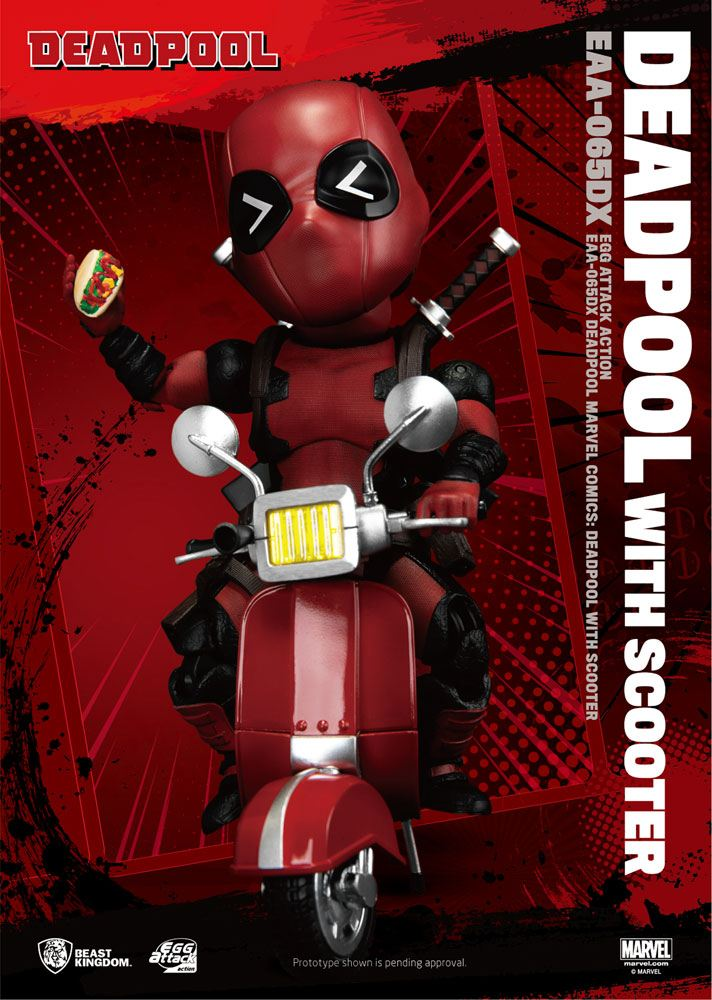 Figurine Marvel Comics Egg Attack Deadpool Deluxe Ver. 17cm 1001 Figurines (1)