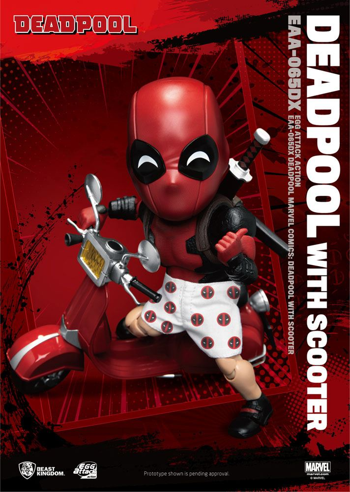 Figurine Marvel Comics Egg Attack Deadpool Deluxe Ver. 17cm 1001 Figurines (3)