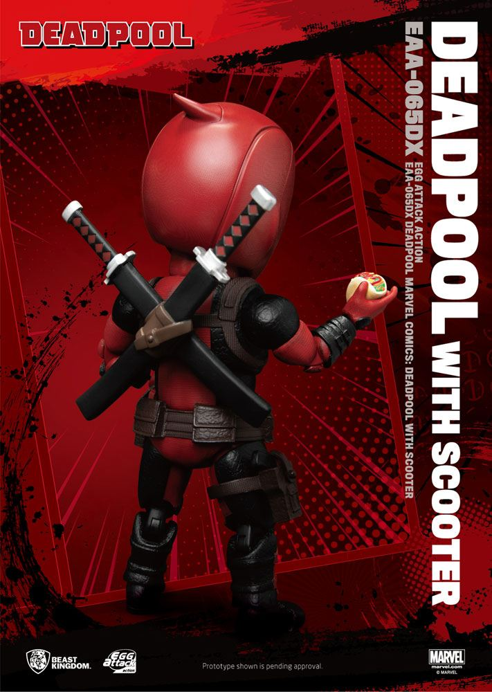Figurine Marvel Comics Egg Attack Deadpool Deluxe Ver. 17cm 1001 Figurines (6)