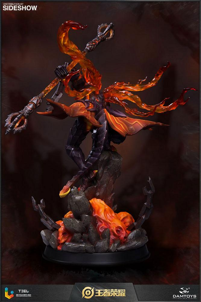 Statuette Honor of Kings Hellfire Sun Wukong Classic Version 33cm 1001 Figurines (3)