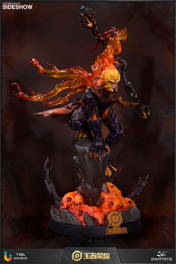 Statuette Honor of Kings Hellfire Sun Wukong Classic Version 33cm 1001 Figurines (5)