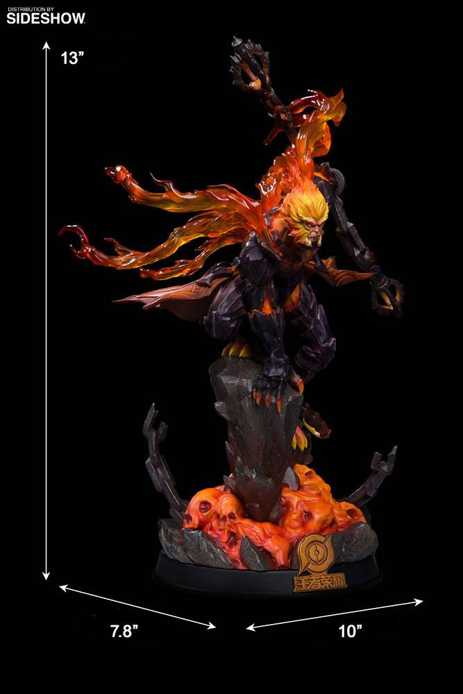 Statuette Honor of Kings Hellfire Sun Wukong Classic Version 33cm 1001 Figurines (8)