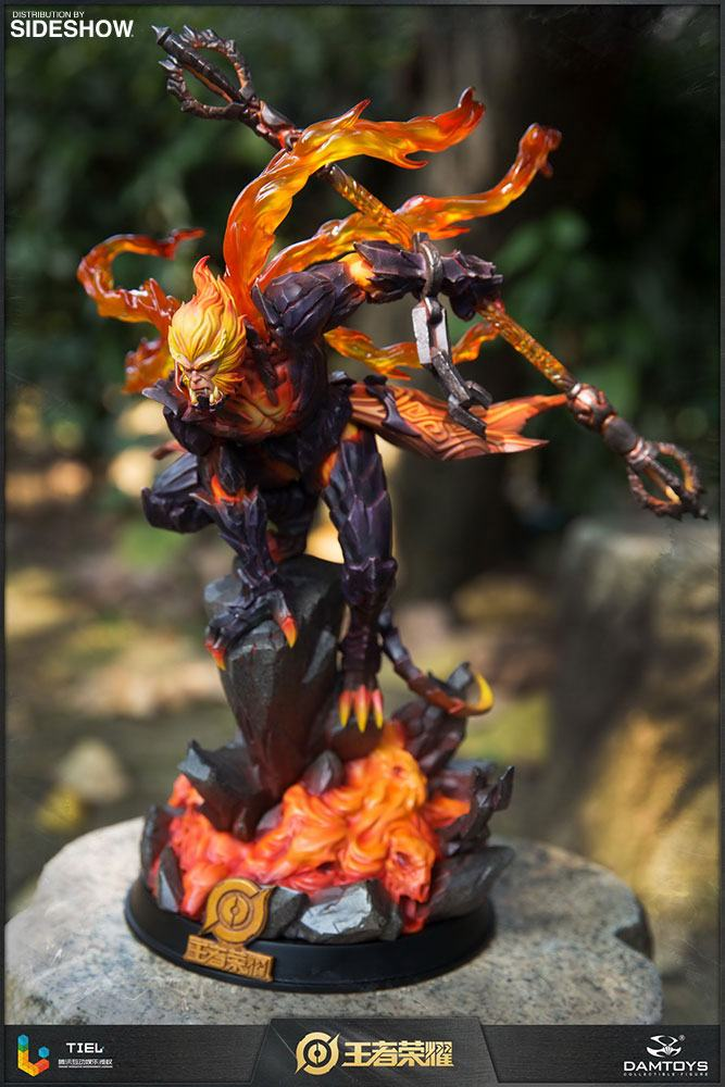 Statuette Honor of Kings Hellfire Sun Wukong Classic Version 33cm 1001 Figurines (10)