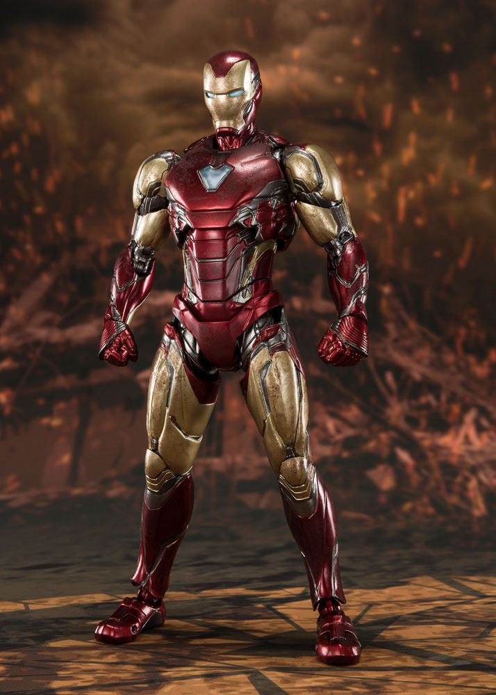 Figurine Avengers Endgame S.H. Figuarts Iron Man Mk 85 Final Battle 16cm 1001 Figurines (1)