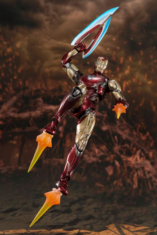Figurine Avengers Endgame S.H. Figuarts Iron Man Mk 85 Final Battle 16cm 1001 Figurines (6)
