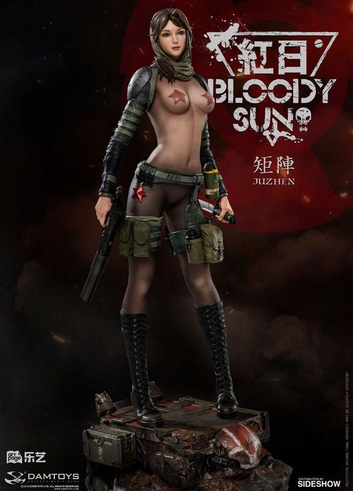 Statuette Bloody Sun Dum by Ju Zhen 37cm 1001 Figurines (2)