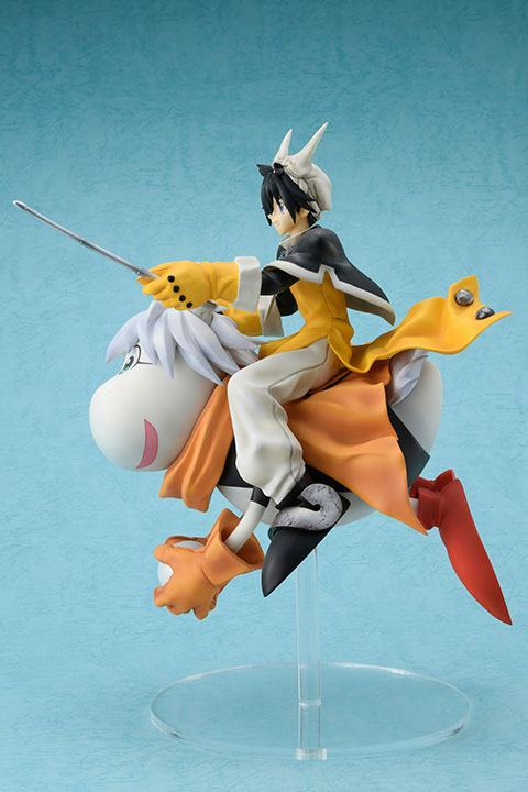 Statuette Hoshin Engi Taikoubou & Supushan 24cm 1001 Figurines (3)