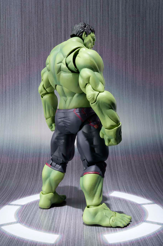 Avengers L'Ère d'Ultron S.H. Figuarts Hulk action figurine 20 cm Bandai Europe