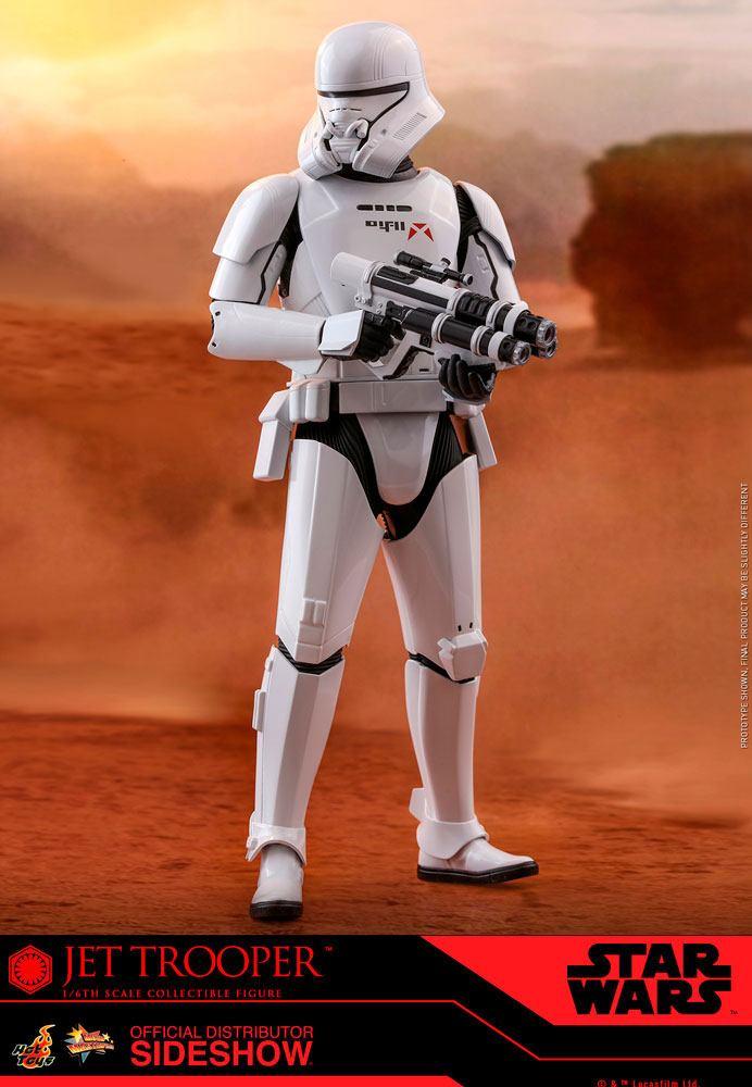 Figurine Star Wars Episode IX Movie Masterpiece Jet Trooper 31cm 1001 Figurines (2)