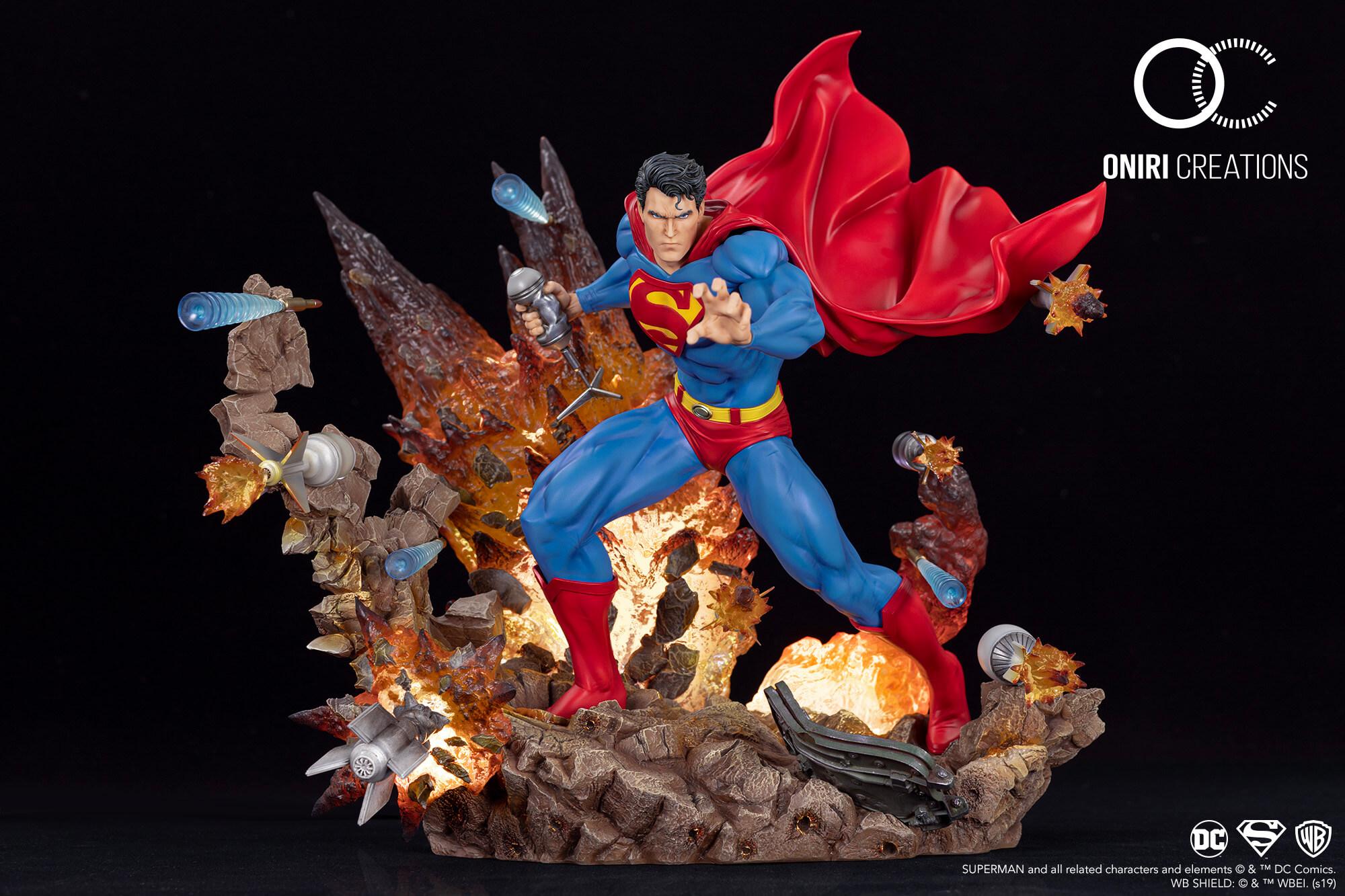 Statue Superman For Tomorrow Oniri Creations