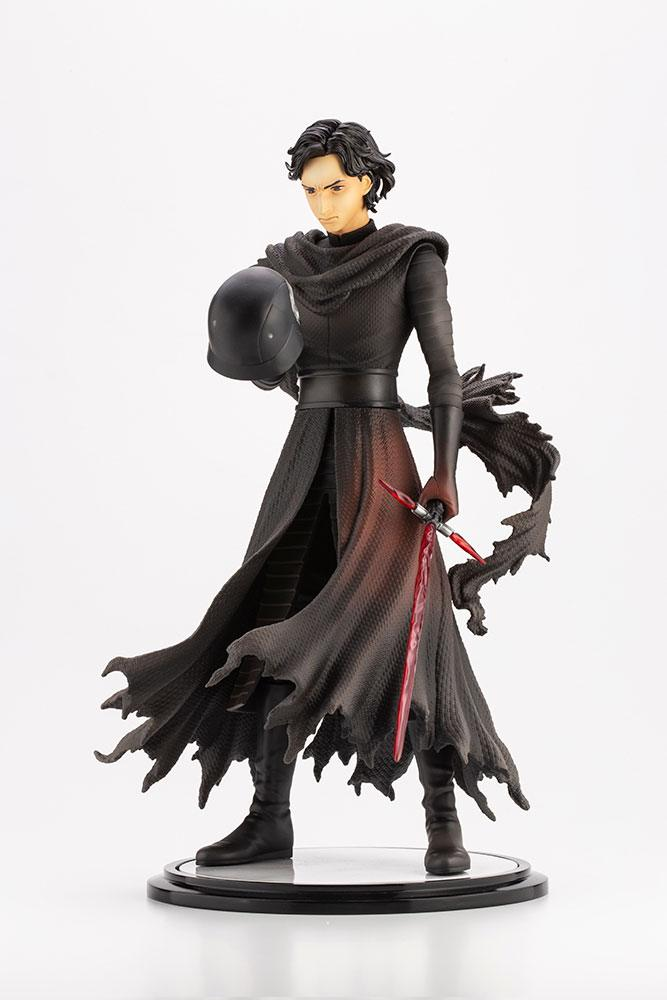 Statuette Star Wars Episode VII ARTFX Kylo Ren Cloaked in Shadows 28cm 1001 Figurines (9)