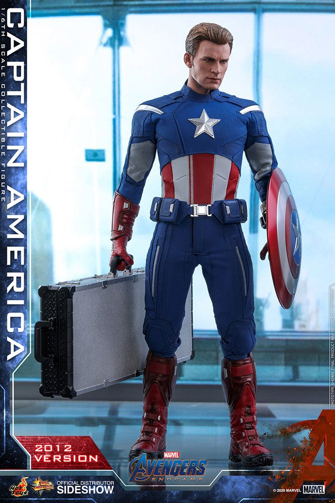 Figurine Avengers Endgame Movie Masterpiece Captain America 2012 Version 30cm 1001 Figurines (1)