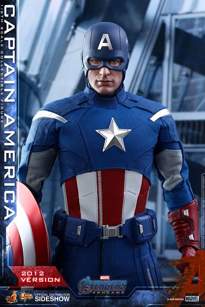Figurine Avengers Endgame Movie Masterpiece Captain America 2012 Version 30cm 1001 Figurines (11)