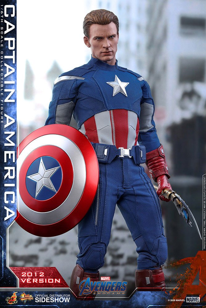 Figurine Avengers Endgame Movie Masterpiece Captain America 2012 Version 30cm 1001 Figurines (12)