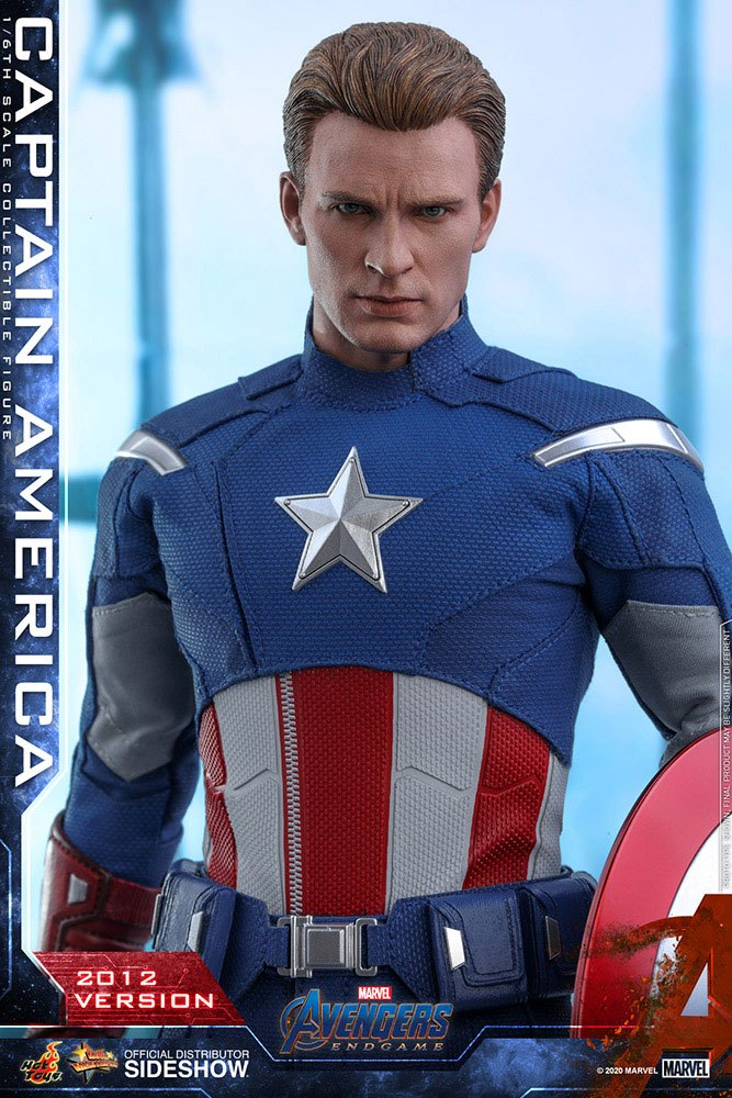 Figurine Avengers Endgame Movie Masterpiece Captain America 2012 Version 30cm 1001 Figurines (13)