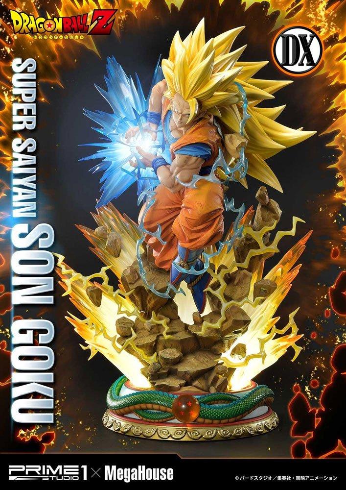 Statue Dragon Ball Z Super Saiyan Son Goku Deluxe Version 64cm 1001 Figurines (1)