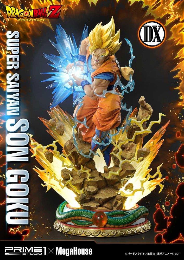 Statue Dragon Ball Z Super Saiyan Son Goku Deluxe Version 64cm 1001 Figurines (3)