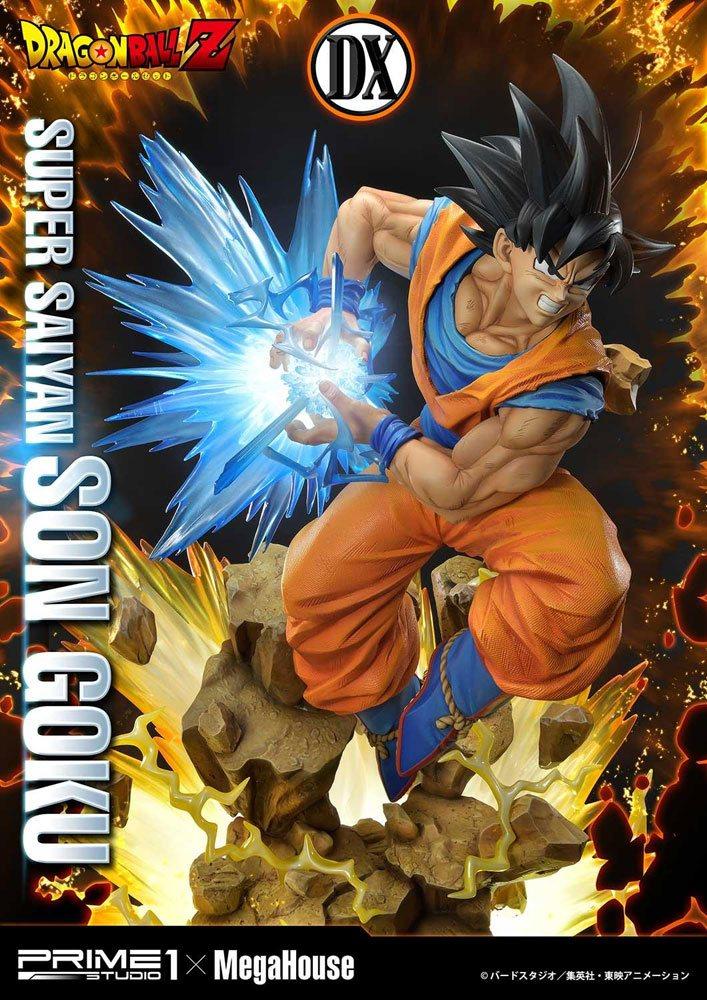 Statue Dragon Ball Z Super Saiyan Son Goku Deluxe Version 64cm 1001 Figurines (7)