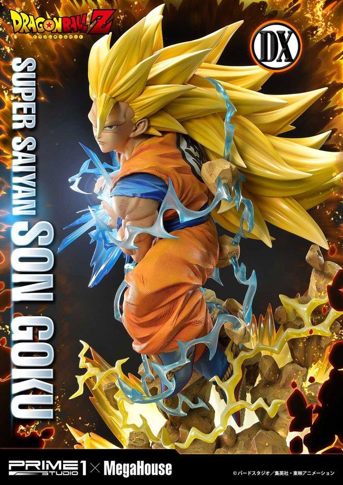 Statue Dragon Ball Z Super Saiyan Son Goku Deluxe Version 64cm 1001 Figurines (8)