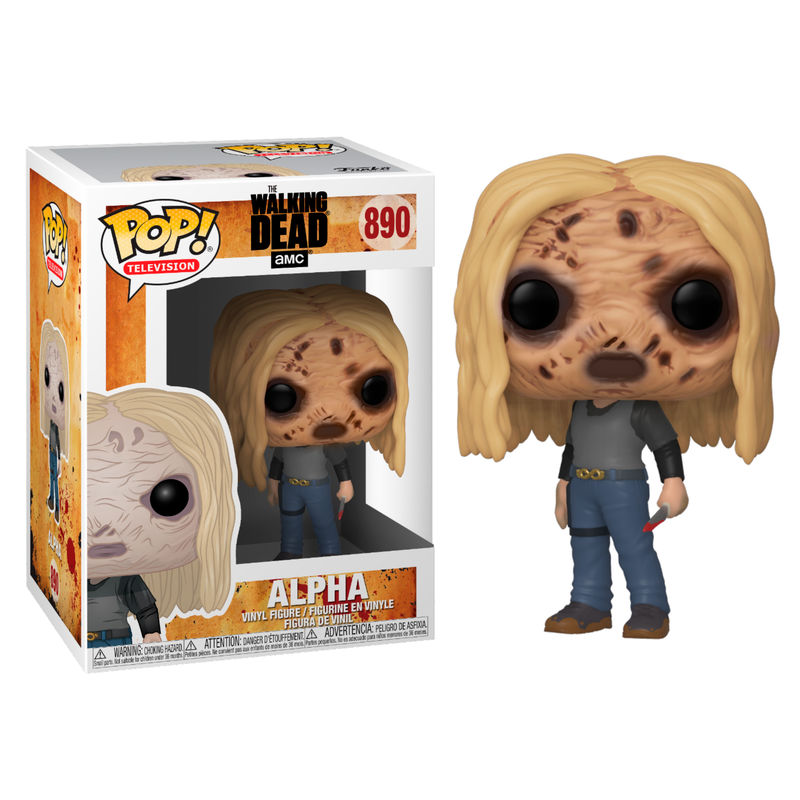 Figurine The Walking Dead Funko POP! Alpha with Mask 9cm 1001 Figurines