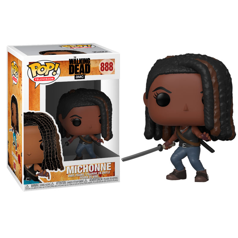 Figurine The Walking Dead Funko POP! Michonne 9cm 1001 Figurines