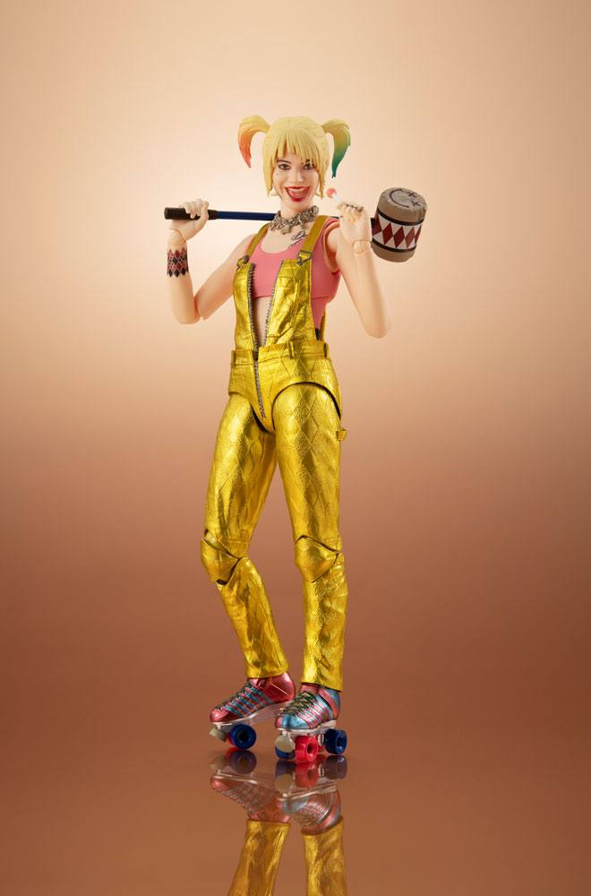 Figurine Birds of Prey S.H. Figuarts Harley Quinn 15 cm 1001 Figurines (1)
