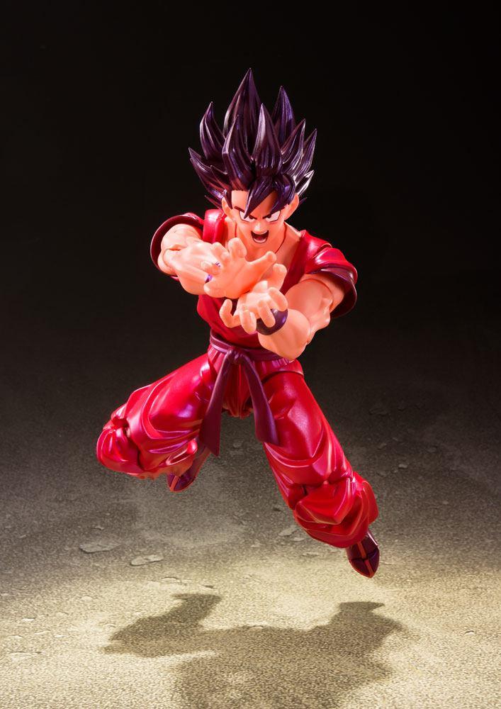 Figurine Dragon Ball Z S.H. Figuarts Son Goku Kaioken 14cm 1001 Figurines (3)