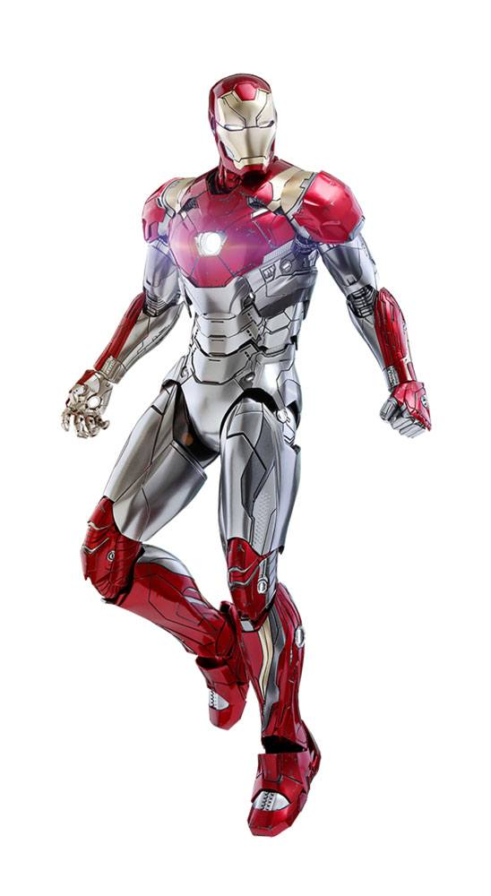 Figurine Spider-Man Homecoming Movie Masterpiece Diecast Iron Man Mark XLVII Reissue 32cm 1001 Figurines (1)