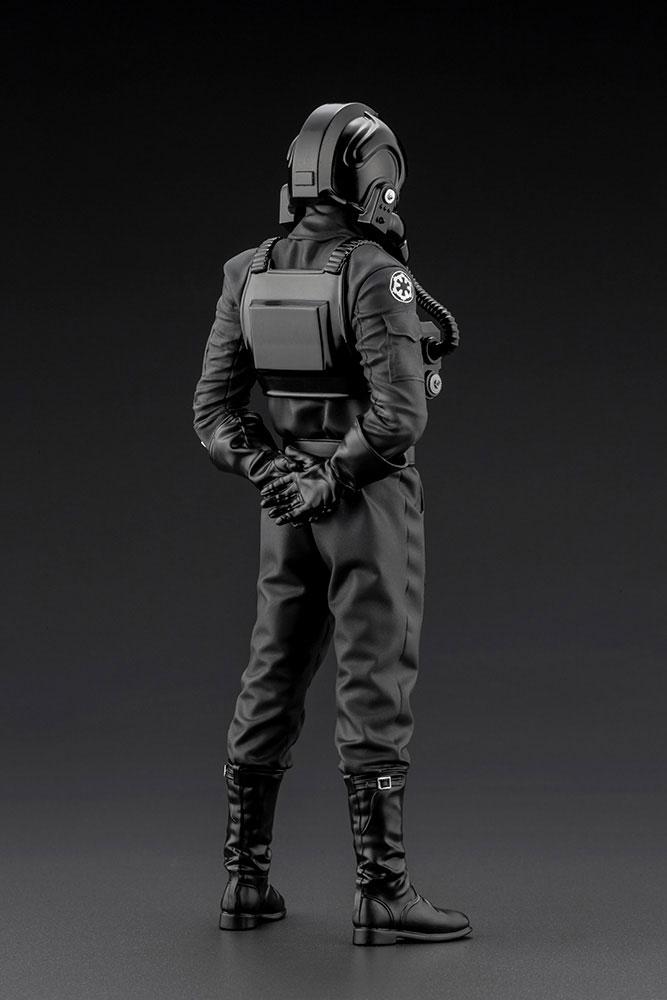 Statuette Star Wars Episode IV ARTFX+ 110 Tie Fighter Pilot 18cm 1001 Figurines (3)