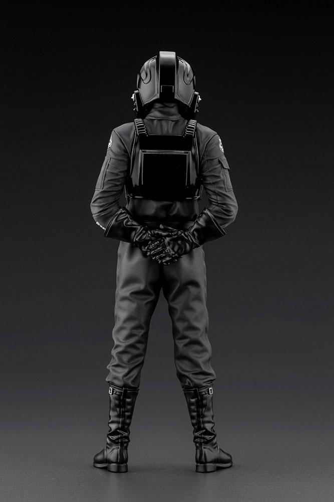 Statuette Star Wars Episode IV ARTFX+ 110 Tie Fighter Pilot 18cm 1001 Figurines (4)