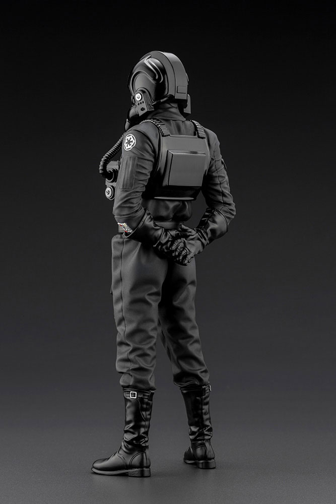 Statuette Star Wars Episode IV ARTFX+ 110 Tie Fighter Pilot 18cm 1001 Figurines (5)
