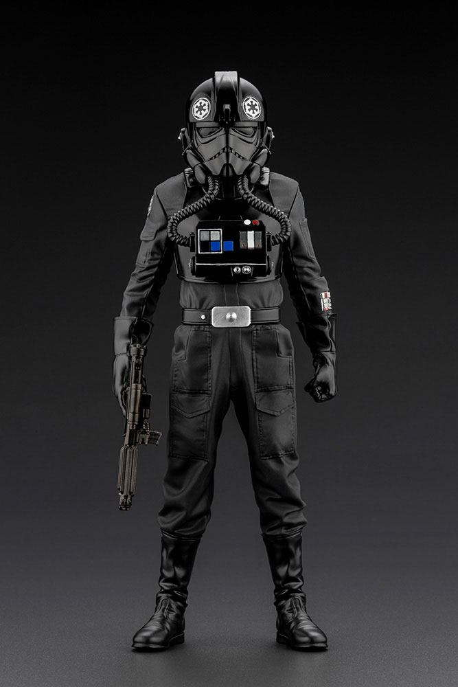 Statuette Star Wars Episode IV ARTFX+ 110 Tie Fighter Pilot 18cm 1001 Figurines (6)