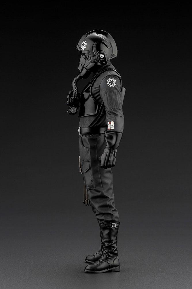 Statuette Star Wars Episode IV ARTFX+ 110 Tie Fighter Pilot 18cm 1001 Figurines (7)