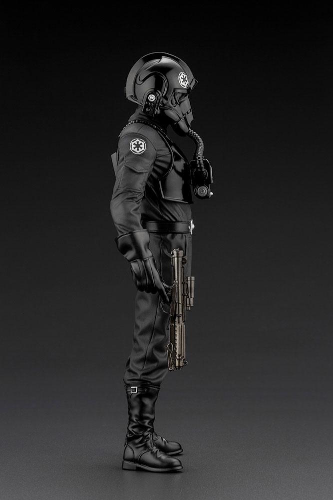 Statuette Star Wars Episode IV ARTFX+ 110 Tie Fighter Pilot 18cm 1001 Figurines (8)