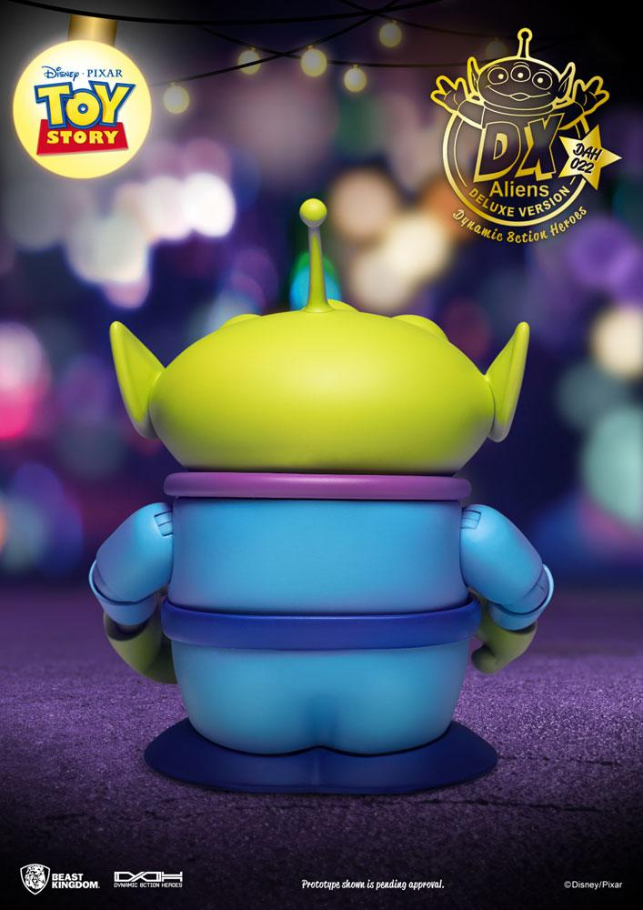 Pack 3 figurines Toy Story Dynamic Action Heroes Aliens DX Ver. 12cm 1001 Figurines (7)