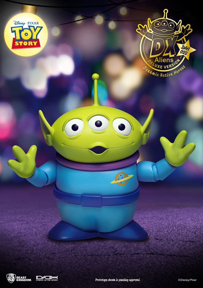 Pack 3 figurines Toy Story Dynamic Action Heroes Aliens DX Ver. 12cm 1001 Figurines (6)