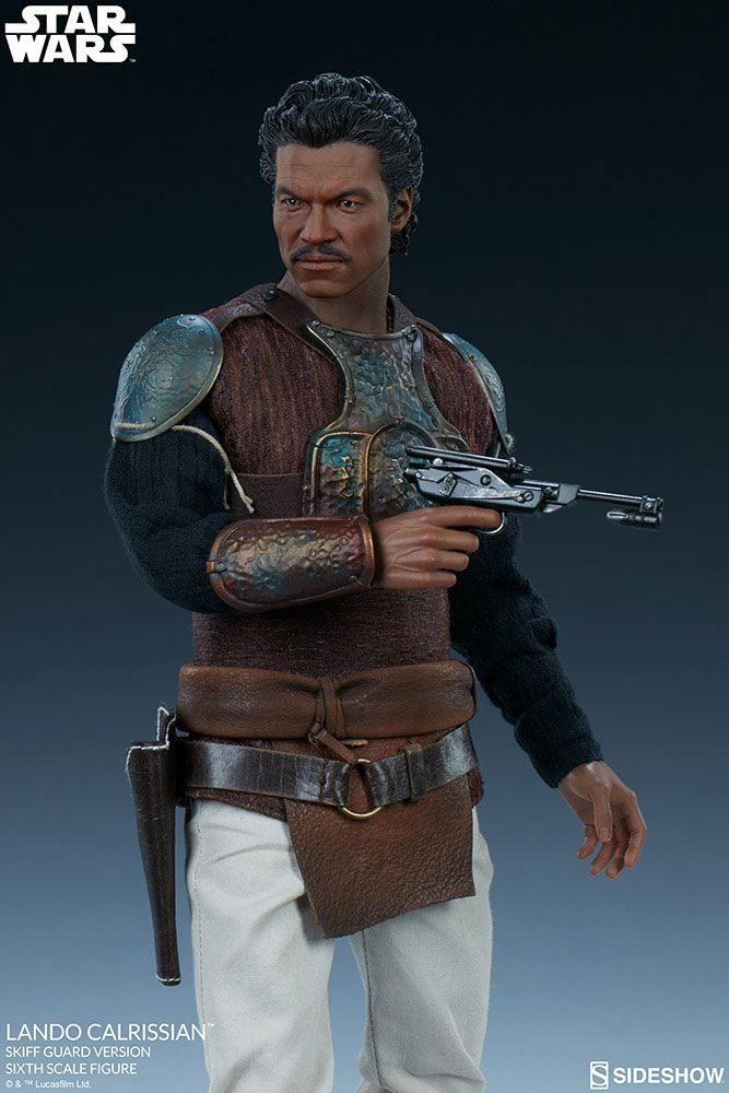 Figurine Star Wars Episode VI Lando Calrissian Skiff Guard Version 30cm 1001 Figurines (4)