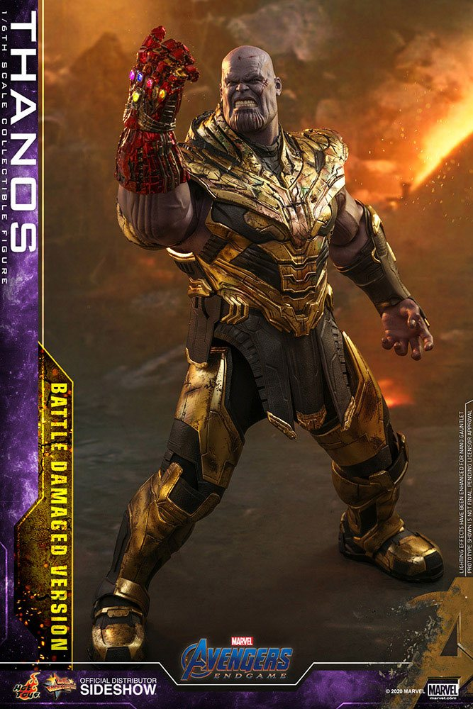 Figurine Avengers Endgame Movie Masterpiece Thanos Battle Damaged Version 42cm 1001 Figurines (1)
